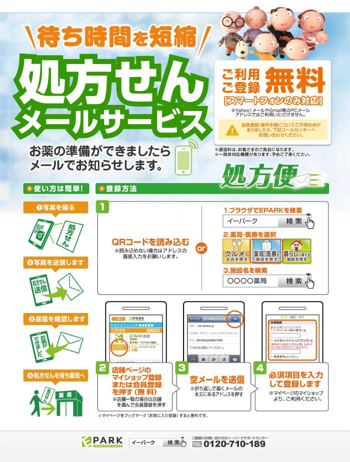 処方せんサービス fax 株式会社ユーワ